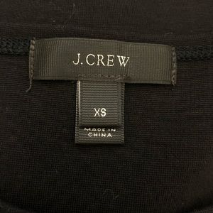J. Crew Tops - J. Crew Black Jeweled Dolman Sleeve Top XS EUC